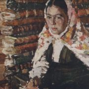 Portrait of a young Bashkir girl