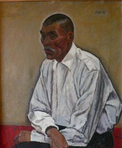 Portrait of father
