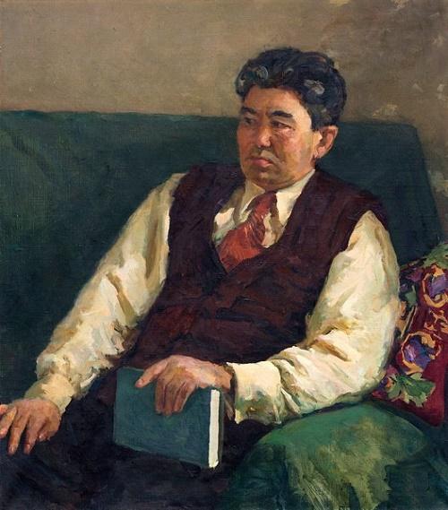poet T. Umetaliev 1963