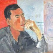 Portrait. Far East. 1936 Oil on canvas