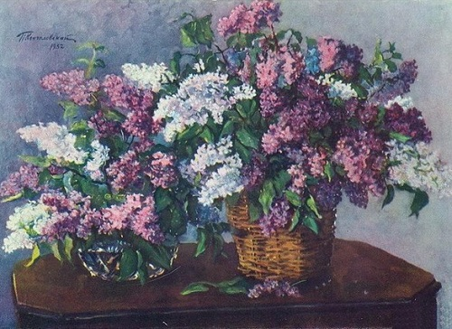 Lilac in the wicker