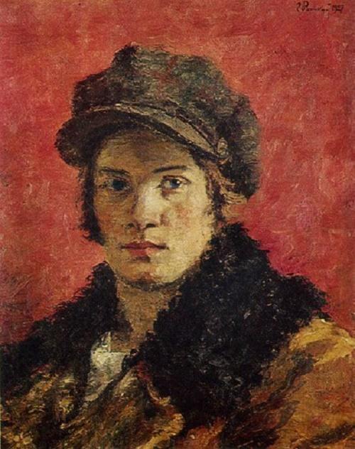 Rabfak woman (worker-student). 1927