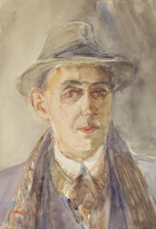 Self-portrait. 1940s