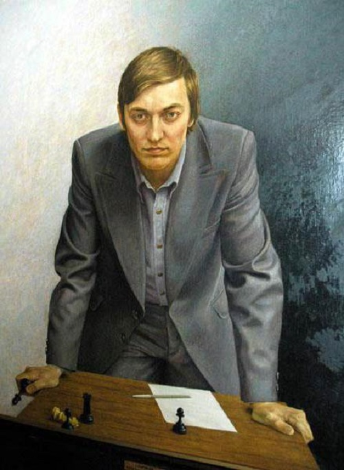 Soviet chess player Anatoly Karpov