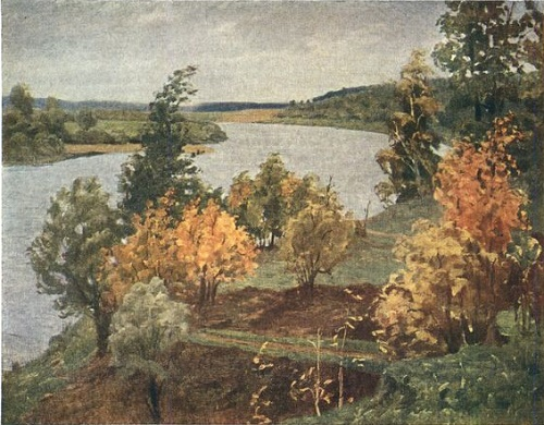 The Oka near Polenovo. 1950