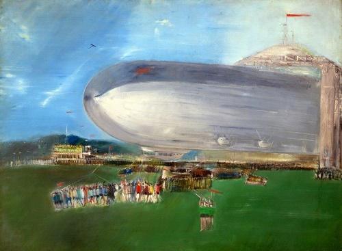 Soviet airship. 1931
