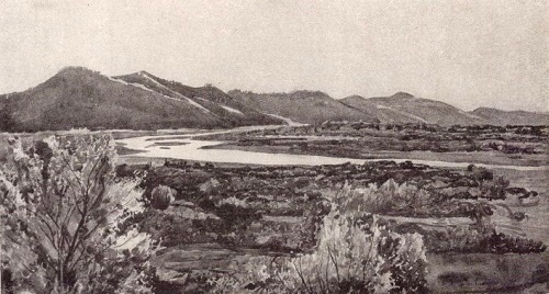 The river Bzyb. 1929