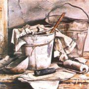 V. Maiboroda. Still life. Oil. 1988
