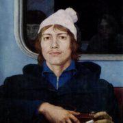 Viktor Kalyakin, portrait. 1977
