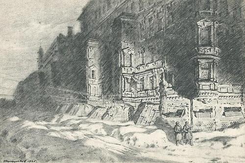 Winter of 1941-1942 in Leningrad