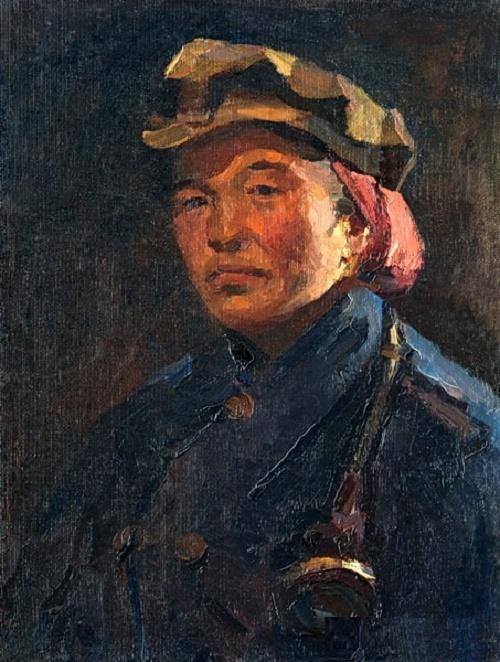 Woman - Miner. 1954