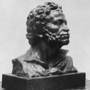 Pushkin. Bronze, 1926. State Tretyakov gallery