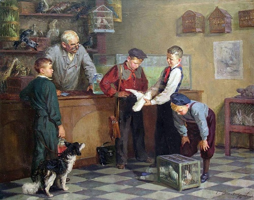 Experts. 1954. Grigory Shpolyansky (1899-1981)