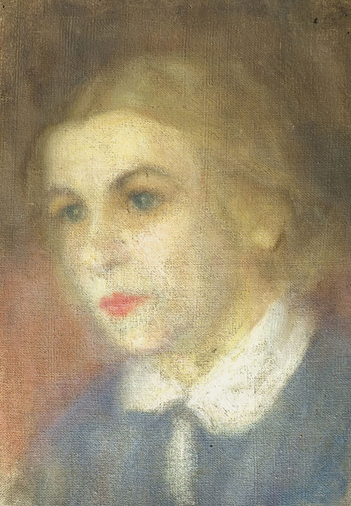 Female portrait. 1930s