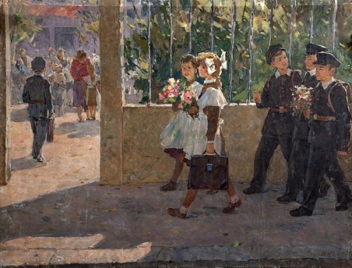 Grigory Stepanovich Vasetsky (born 1928). 1st September. 1960