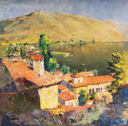 Landscape in Tuapse. 1930s