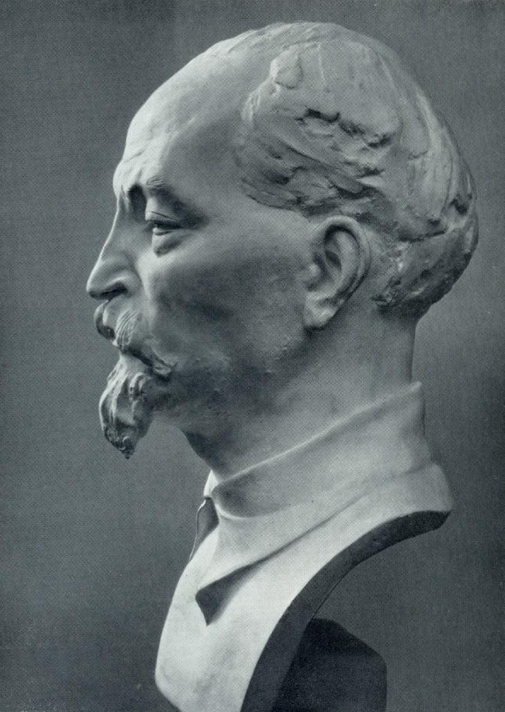 Dzerzhinsky. Gypsum. 1925