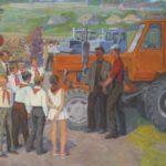 Pioneers in paintings of Soviet artists