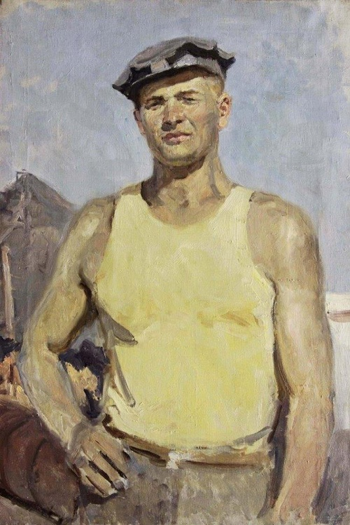 Miner of Donbass. 1950