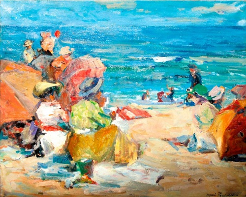 Picnic at the sea