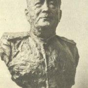 Portrait of General Ignatyev. 1943. Bronze