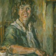 Portrait of Tatyana Oranskaya, 1941. Artist Aristarkh Lentulov