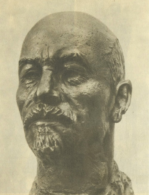 Portrait of VI Lenin. 1950-1953. Bronze