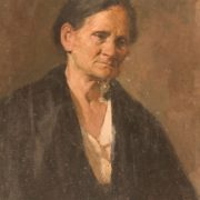 Old woman portrait