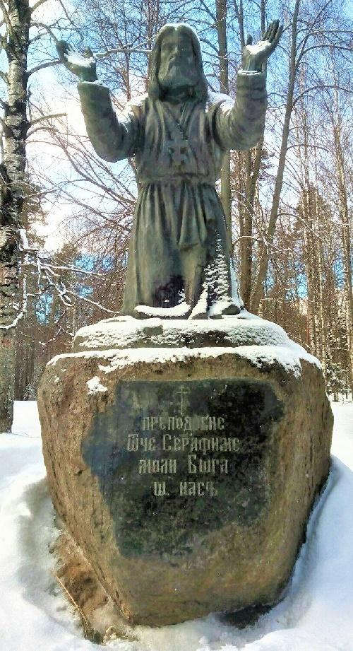 Serafim Sarovsky, monument