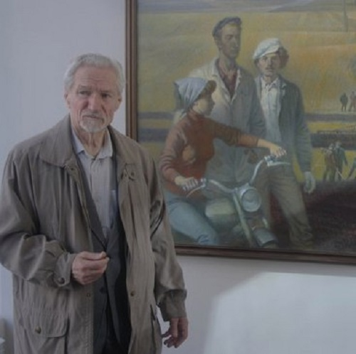 Soviet painter and graphic artist Vasily Losev (born 4 March 1934)