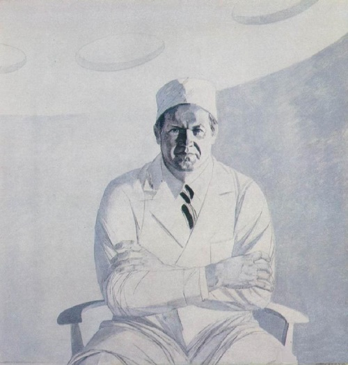 Surgeon V. Saveliev, 1977