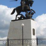 Soviet Russian sculptor Vyacheslav Klykov