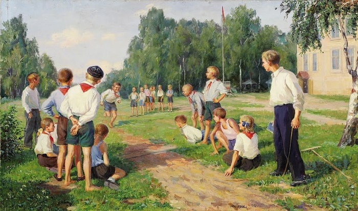 The day of sport. 1952
