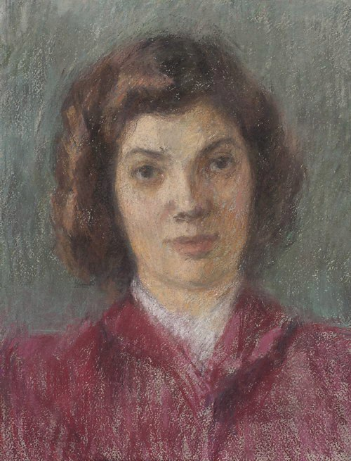 Unknown woman portrait