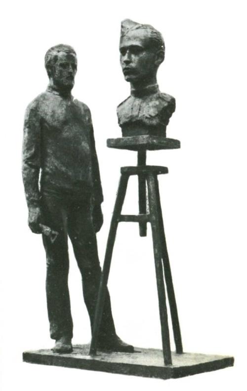 Ernst Thalmann. Bronze. 1985