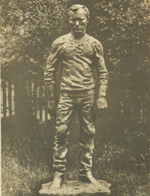 Vasily Shukshin. 1978. Bronze