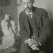 Vladimir Domogatsky (1867-1939). 1921. Photo by Robert Johanson