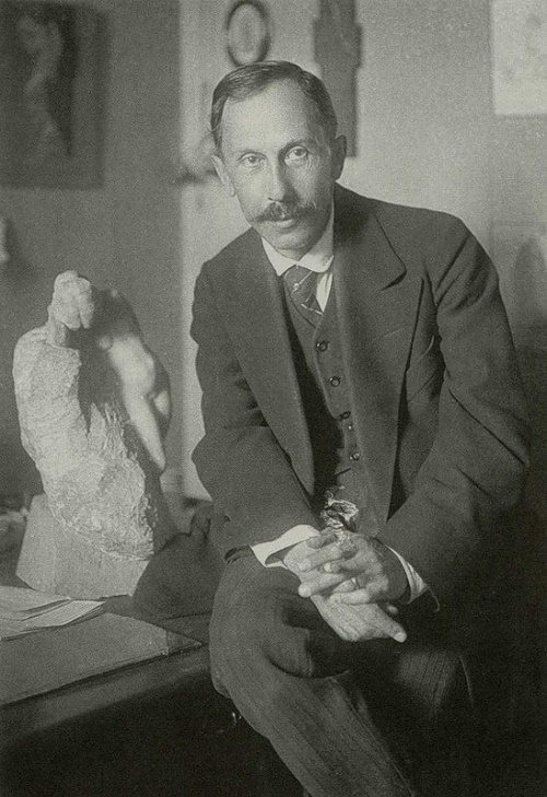 Vladimir Domogatsky (1867-1939). 1921. Photo by Robert Johanson