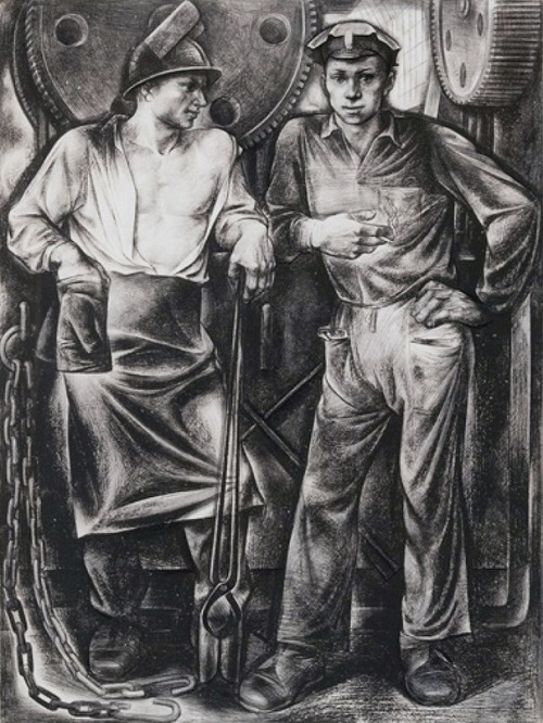 Workers. 1972