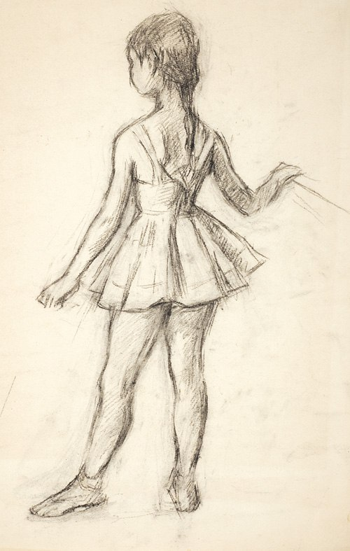 Young ballerina. 1930s