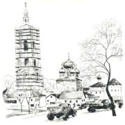 38. In the Soviet Union they build not only houses, but also restore architectural monuments