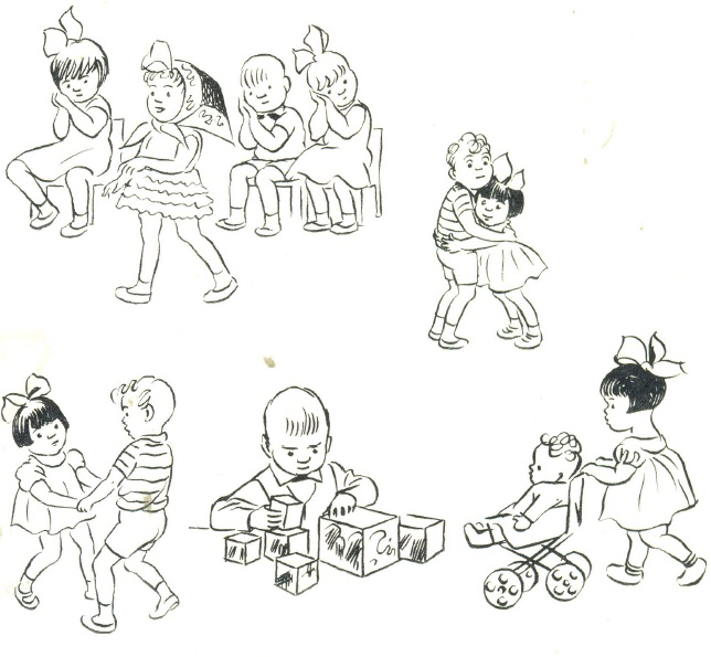 65. Soviet children in kindergarten