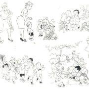 66. In the nursery there are children up to 3 years old, and the kindergarten from 3 to 7
