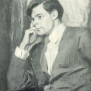 Actor of MKhAT AA Mikhailov. 1957