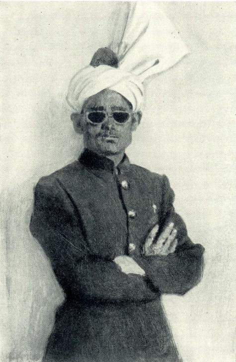 An Indian official. 1952