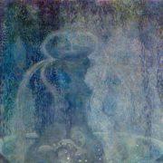 Blue fountain. 1905