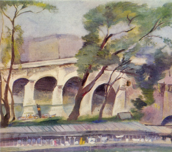Bridge across the Seine. 1923