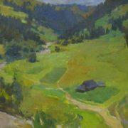 Carpathians. Summer landscape