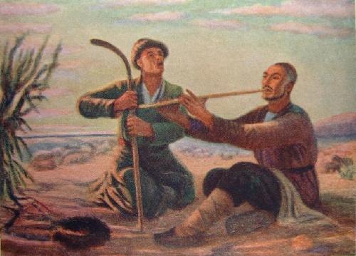 Chabany (shepherds), 1955