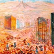 Construction in Yerevan. 1930-1931. Private collection, Moscow